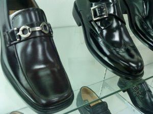 men's leather shoes (shiny)