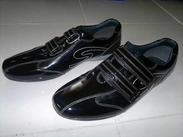 how to make your shoes not shiny