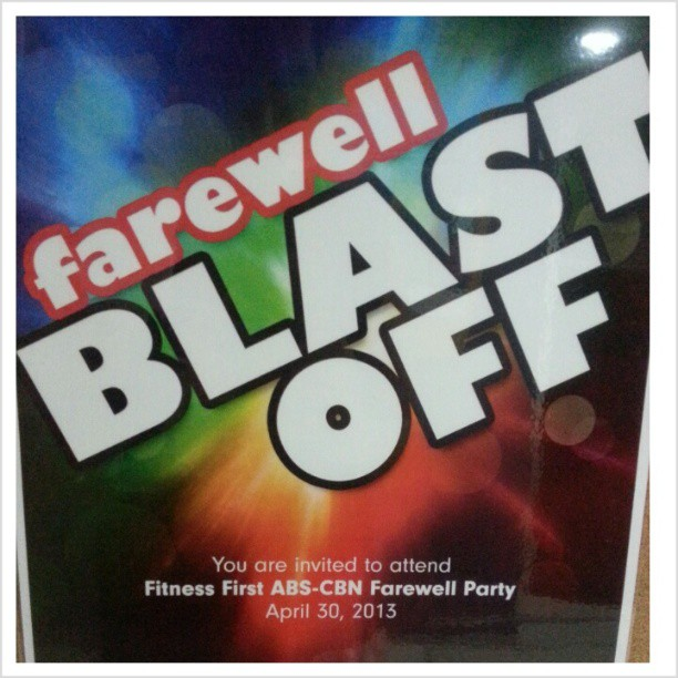 Fitness First ABSCBN Farewell Party