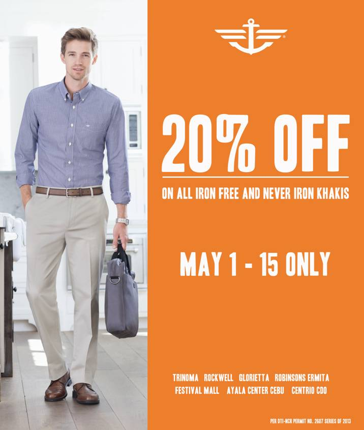 Dockers 20 off Sale