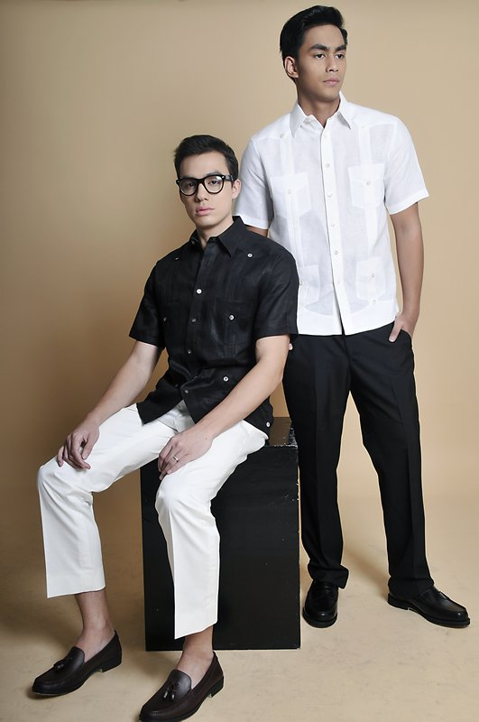 Barongs and Contemporary Suits for Modern Men