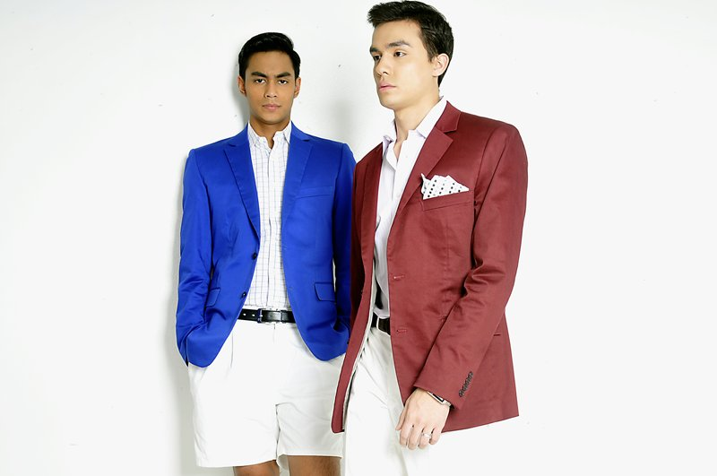 Colored Suits for Men (2)