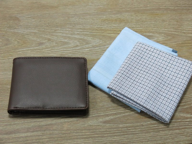 Men's Wallet and Handkerchief Set (2)