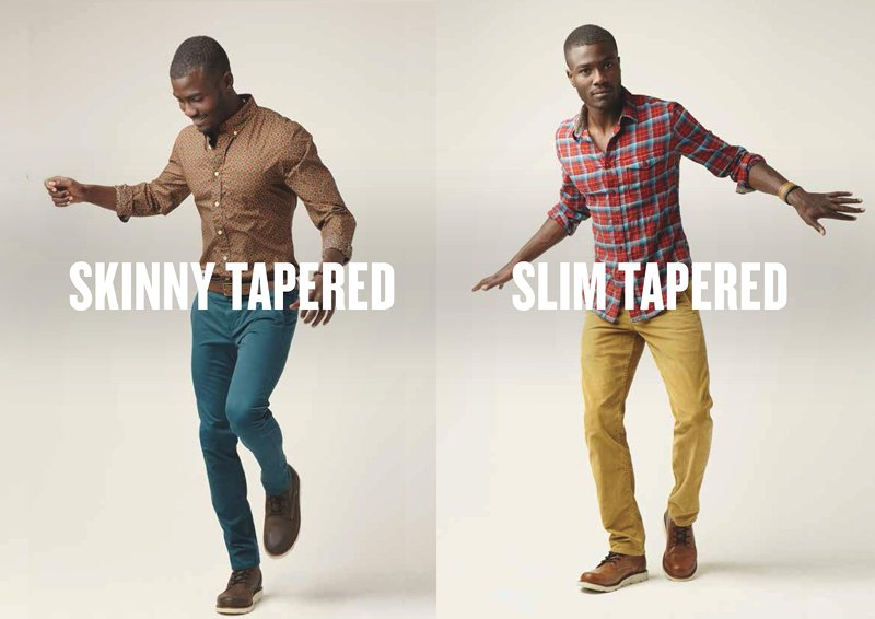 Dockers Alplha Slim and Skinny Tapered Khaki