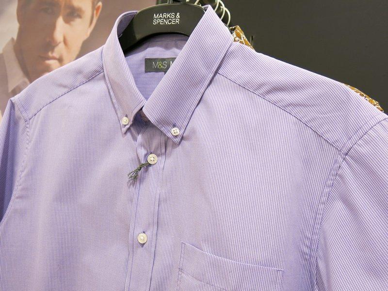 Marks & Spencer Shortsleeve Dress Shirt (1)