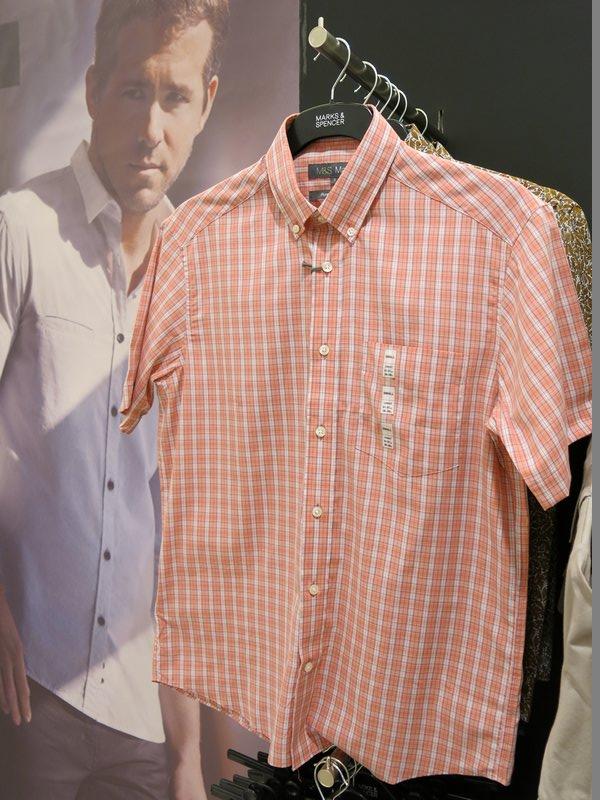Marks & Spencer Shortsleeve Dress Shirt (3)