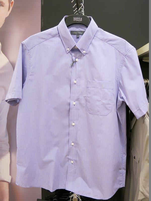 Marks & Spencer Shortsleeve Dress Shirt (4)