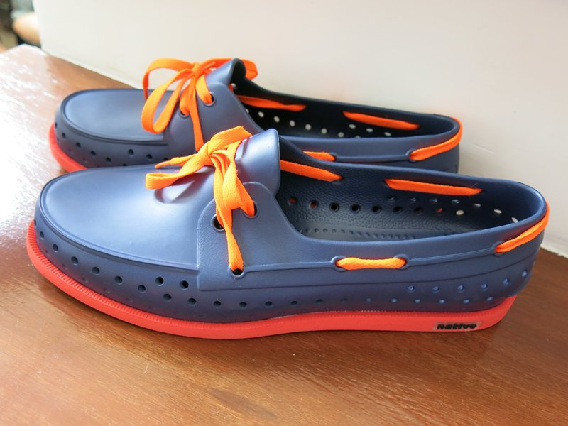 Native Howard Regatta Blue Men's Shoes (12)