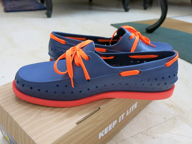 Native Howard Regatta Blue Men's Shoes (2)