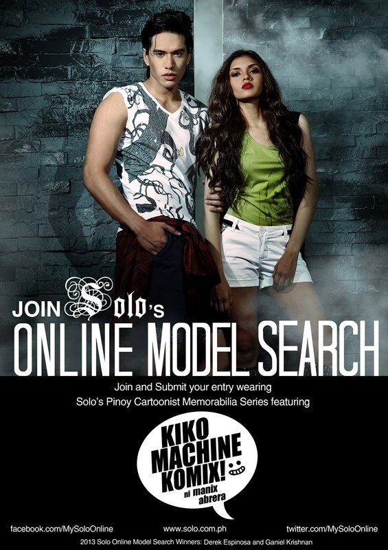 m_Solo Online Model Search Poster