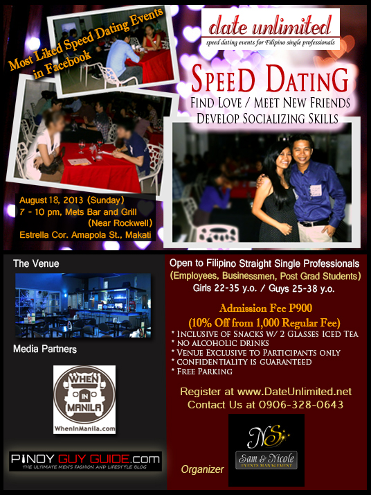 speed date philippine dating