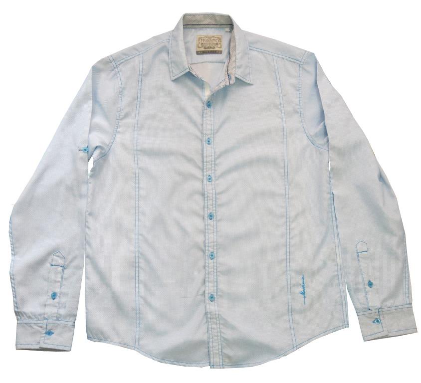Mossimo Long-Sleeves Lighth Blue