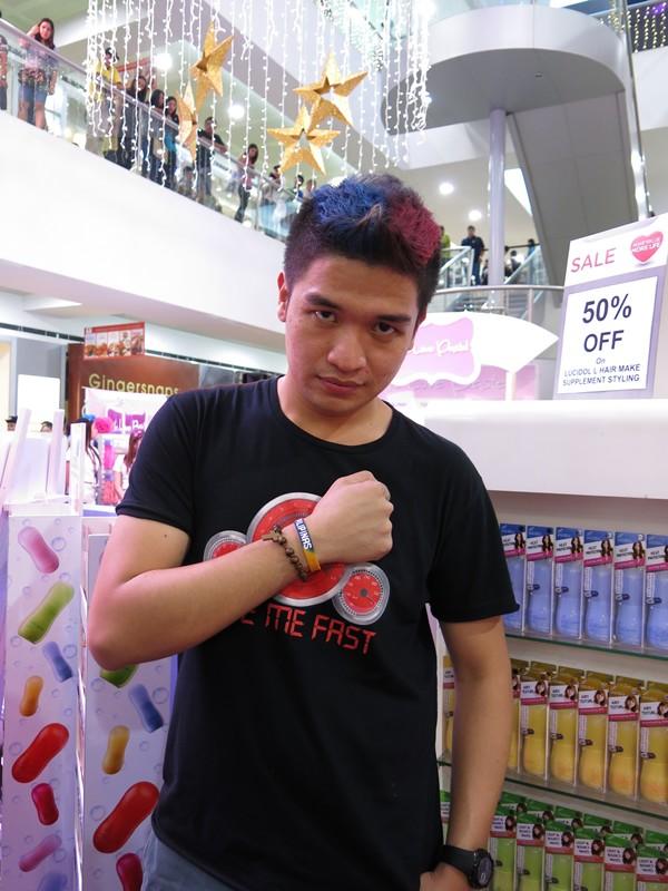 Chris Pastel Hair Color Philippine Flag (5)