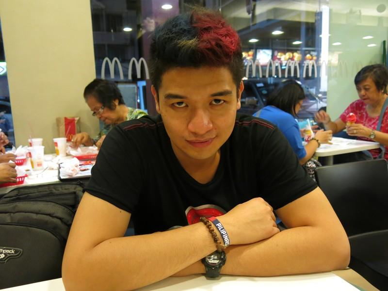 Chris Pastel Hair Color Philippine Flag (7)