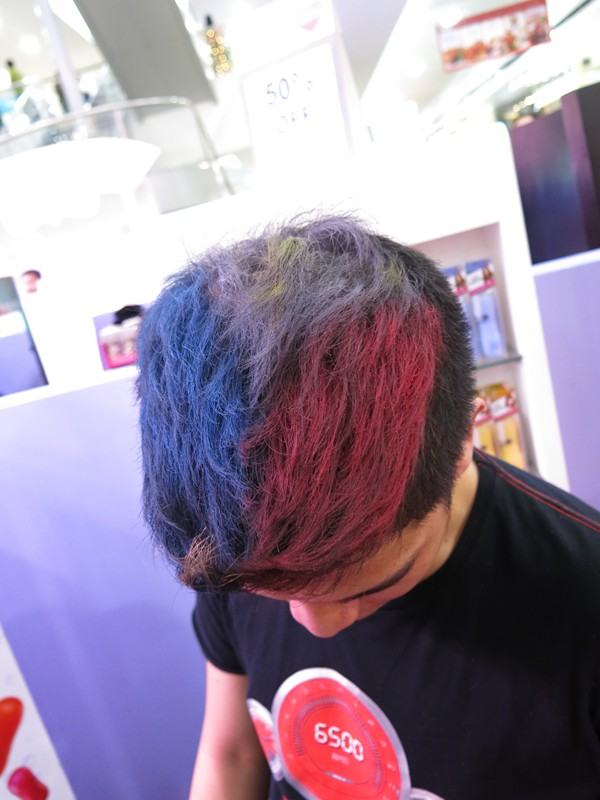 Chris Pastel Hair Color Philippine Flag (9)