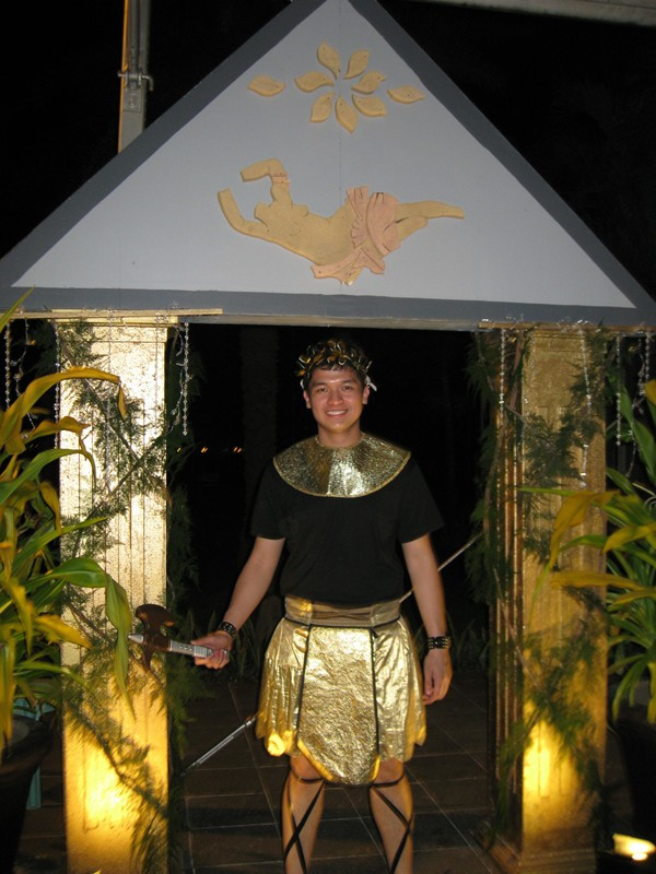 Greek gods and goddesses costume theme 3