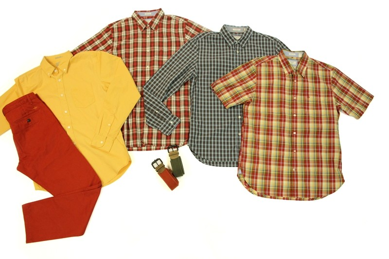 All is Khaki and Bright with Dockers Alpha Khaki Red-Oxide, Oxford Shirt, Laundered Shirts and Canvass Belts