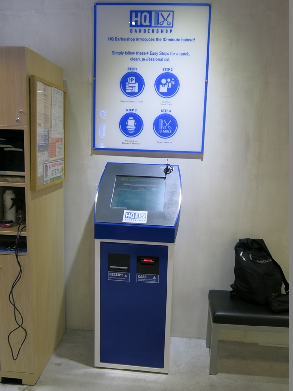 HQ Payment and Ticketing Machine