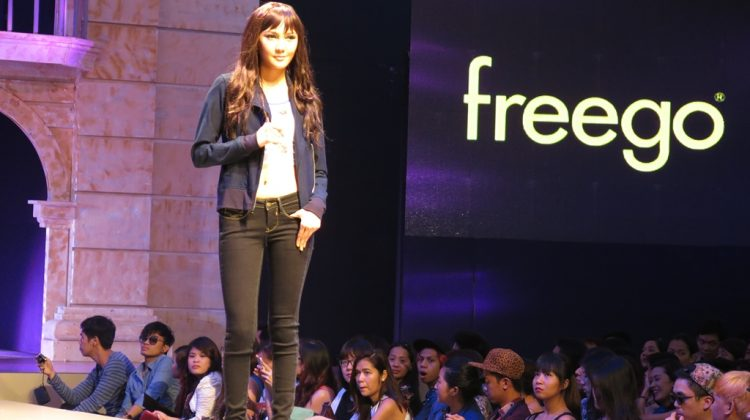 Hot Models at Freego Summer 2014 Fashion Show