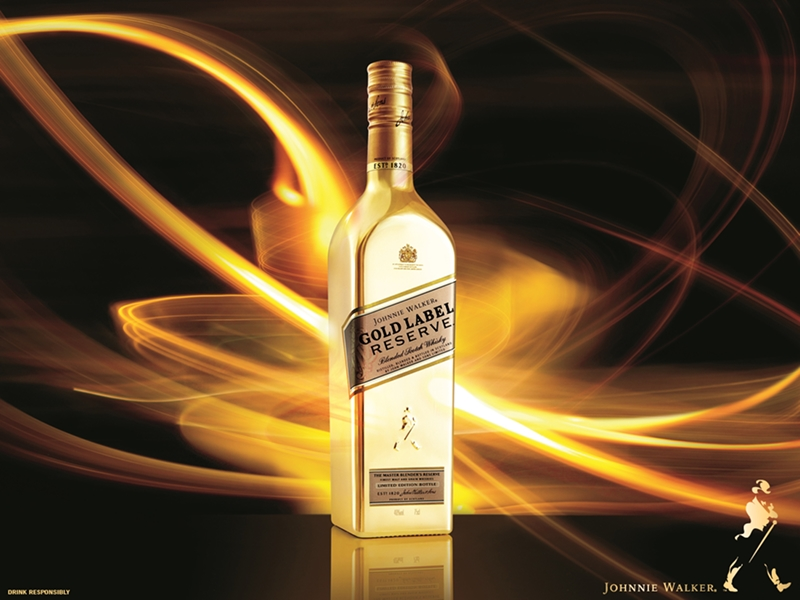 Johnnie Walker Gold Label Reserve Comes In A Limited Edition