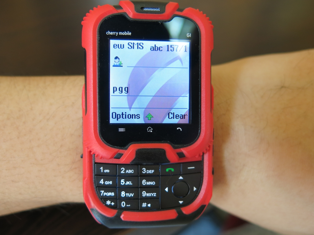 Cherry Mobile G1 Watch Phone (15)