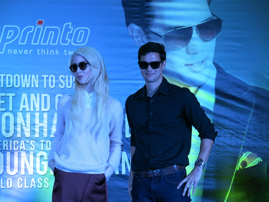 Phil Younghusband and Allison Harvard for Sprinto