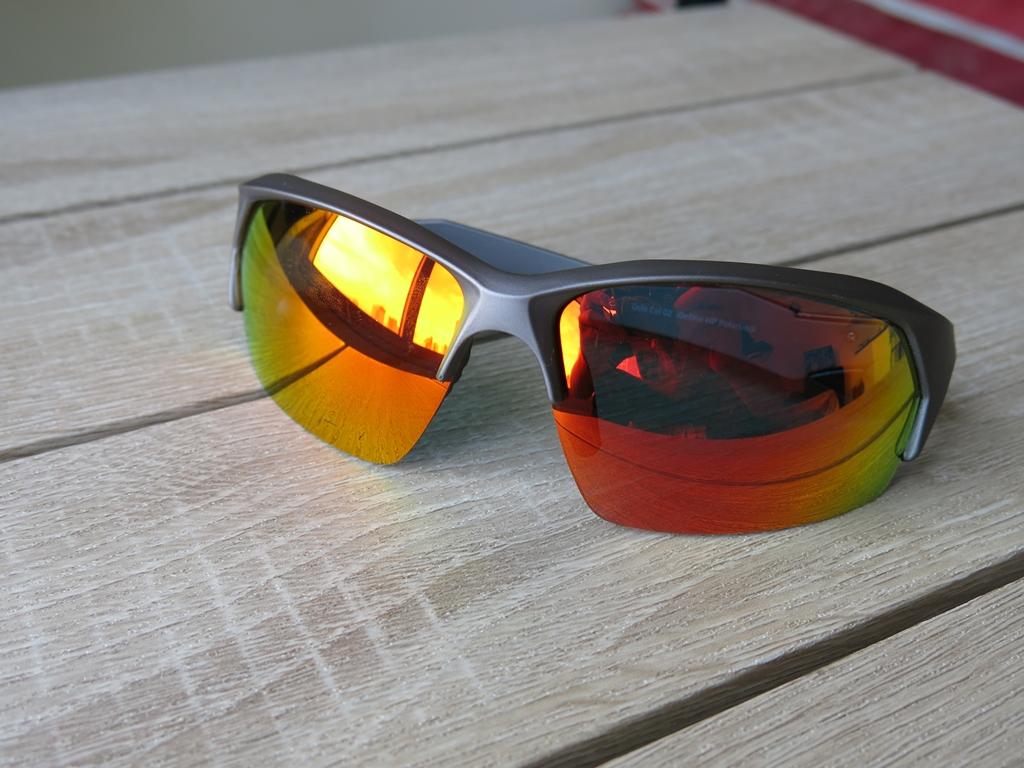 Sprinto Red Lens Men's Sunglasses for Summer