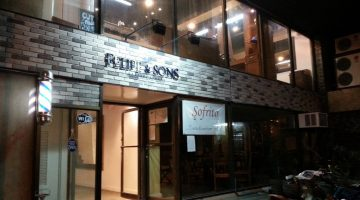 Felipe & Sons at night