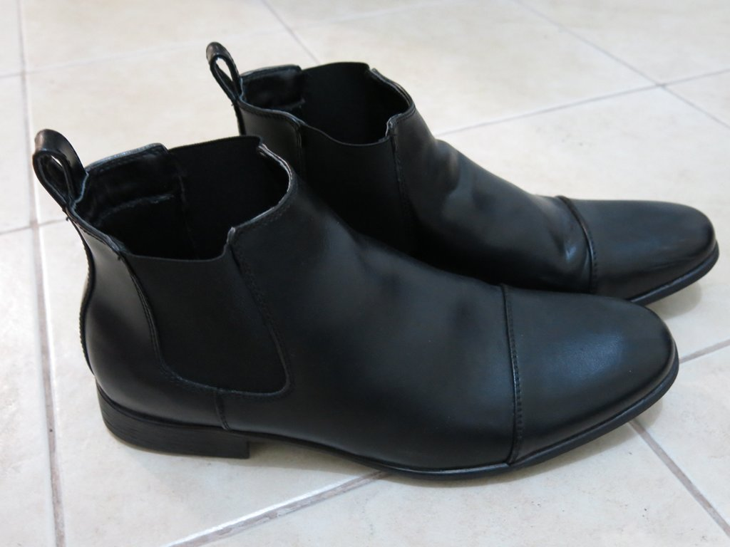 Bata Leather Shoes Without Laces