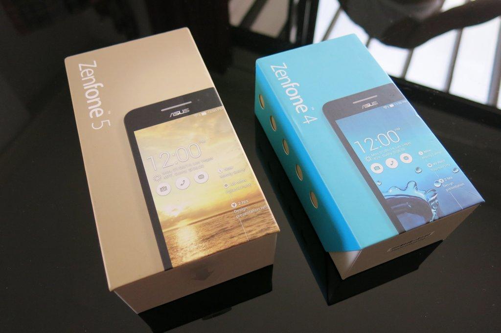 Asus ZenFone 4 and ZenFone 5