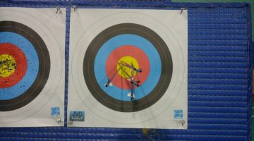 Archery - Results of 1 month training