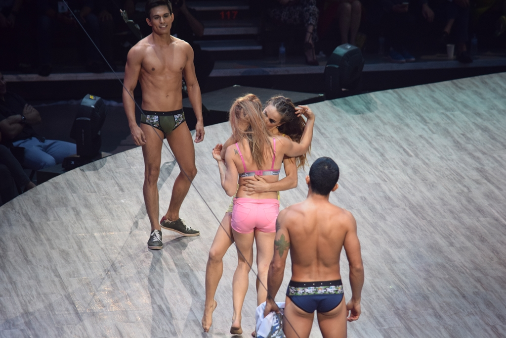 The Naked Truth Bench Underwear And Denim Fashion Show 2014