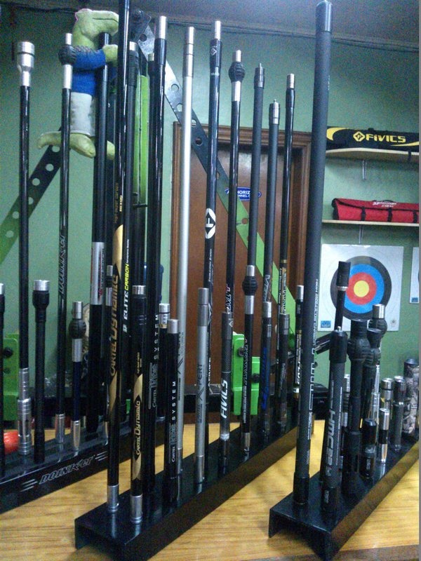 Benel Archery Shop in Mandaluyong showing Bow Stabilizers
