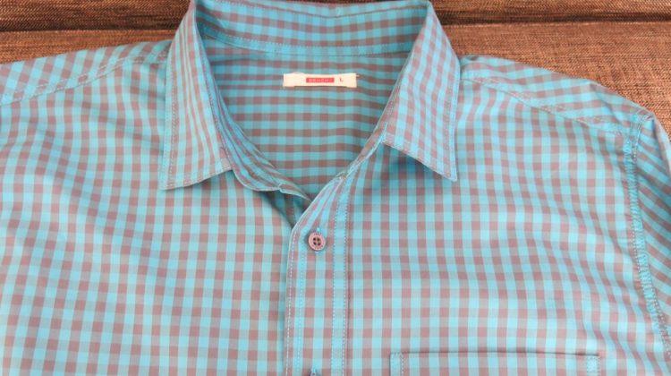 Bench Checkered Teal Polo for Men (3)