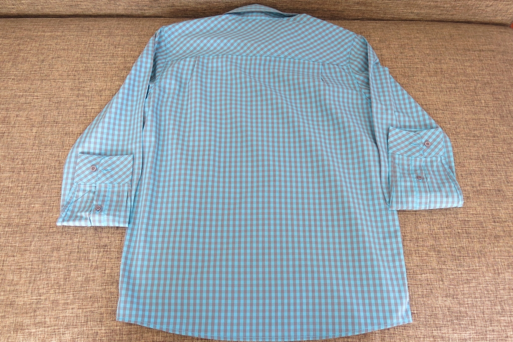 Bench Checkered Teal Polo for Men (4)