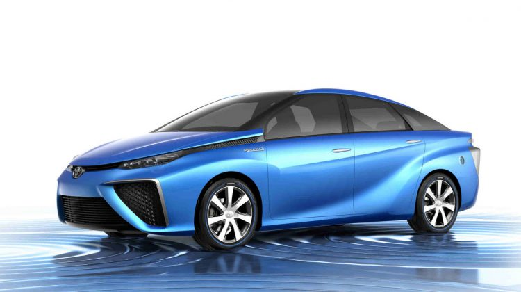 Toyota H2 Fuel Cell Vehicle