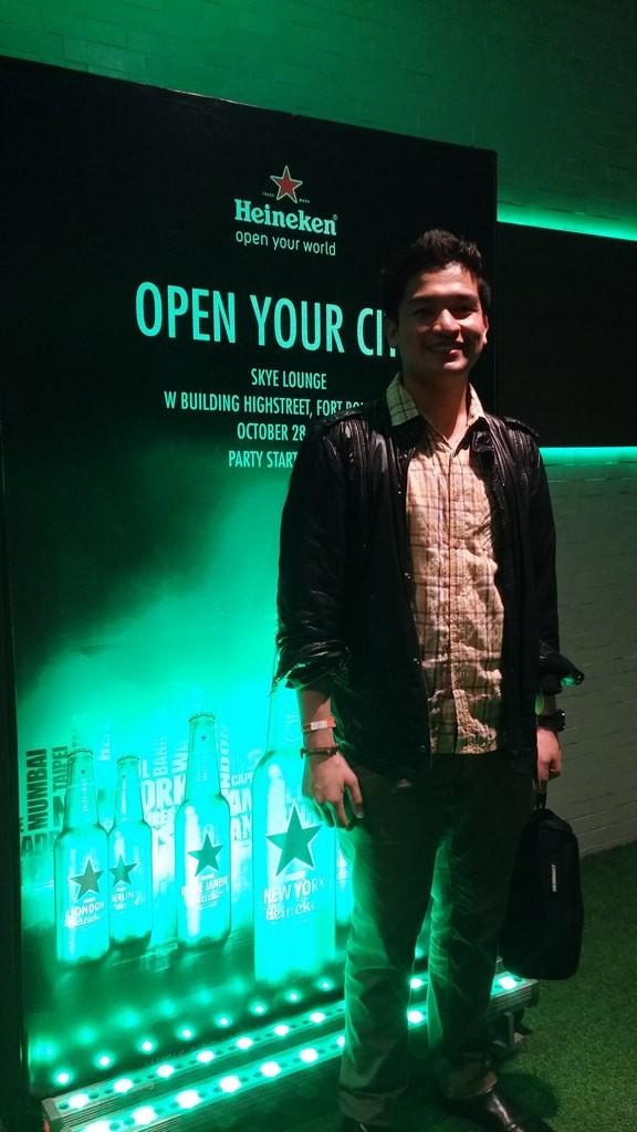 Heineken Open Your City at Skye Lounge (1)