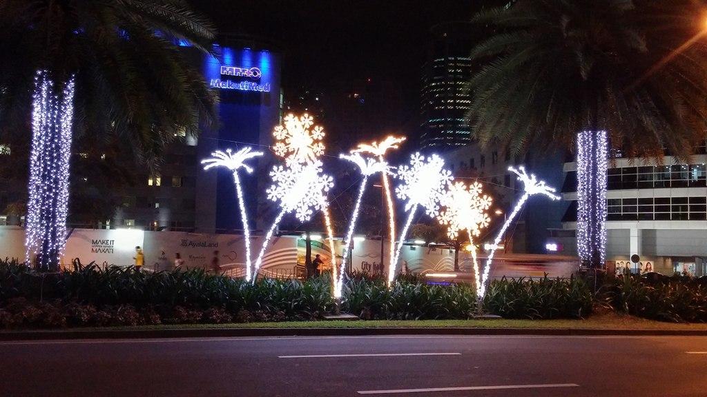 Makati Ayala Avenue Christmas Lights