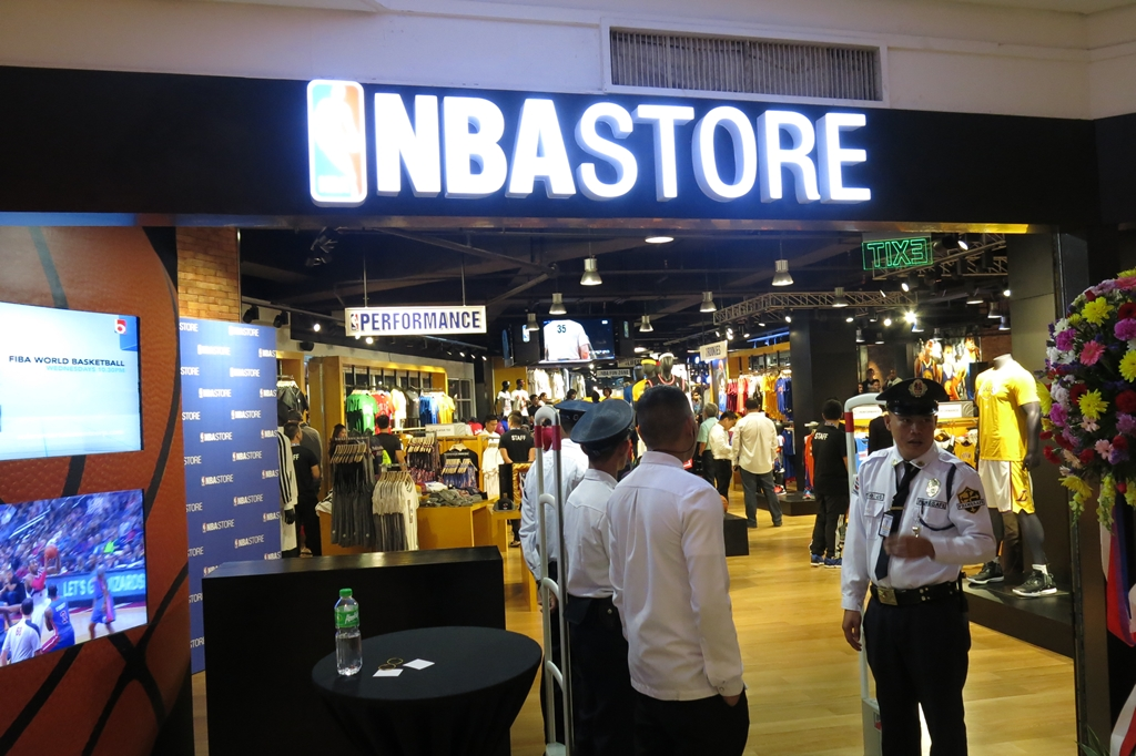 the best attitude 81429 fbc44 NBA Store Philippines Now Open for Basketball Fans – Pinoy ...