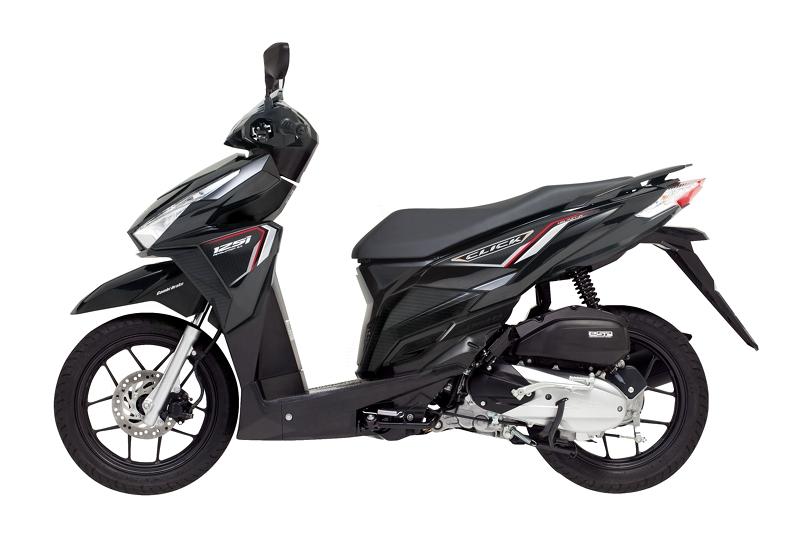 Honda Click Scooter 125i Black (1)