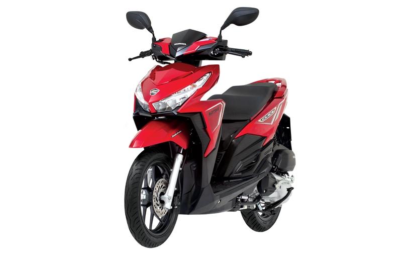 Honda Click Scooter 125i Red (2)