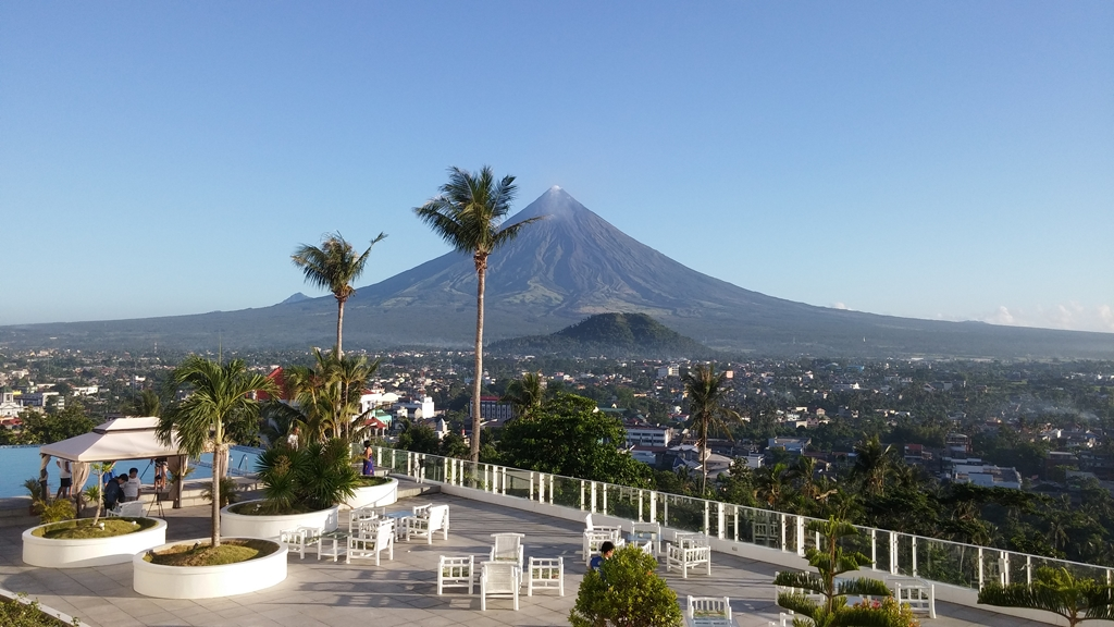 Mt. Mayon View from The Oriental Legazpi