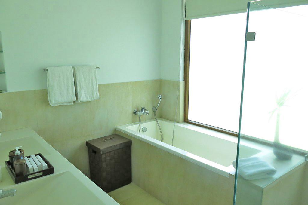 Misibis Villa bathtub