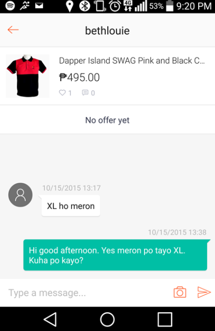 Shopee Chat