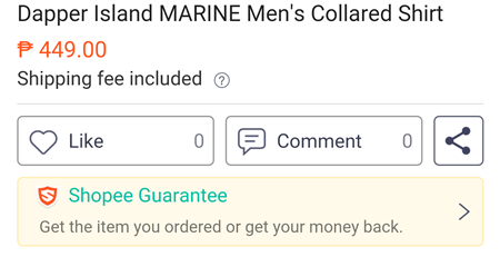 Shopee Guarantee