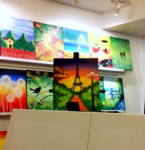 Sip & Gogh Blank Canvas