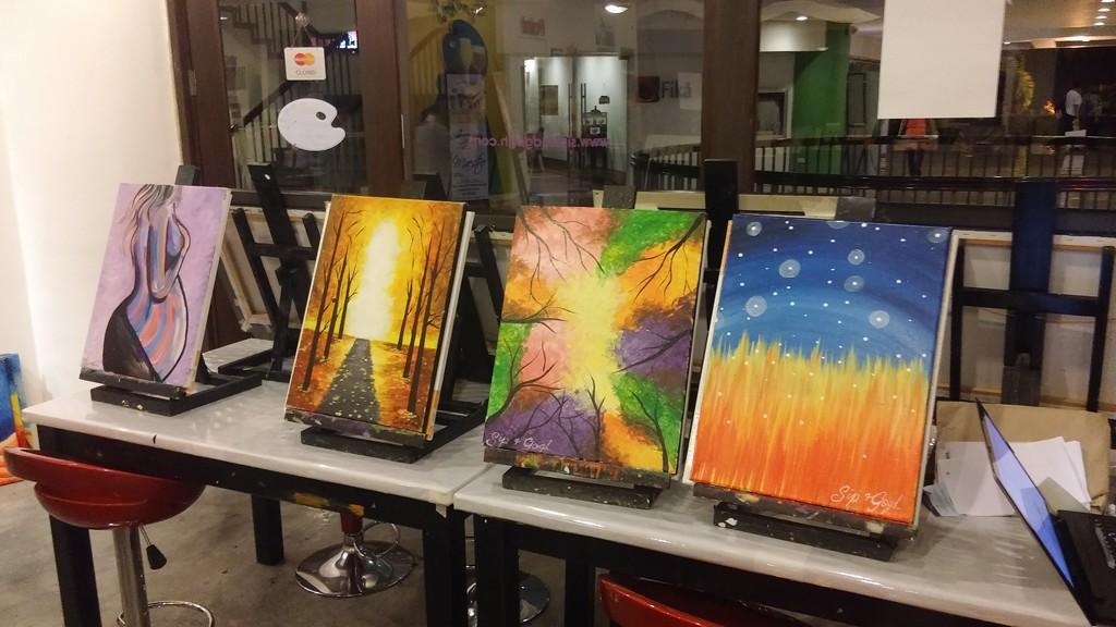 Sip & Gogh Paintings (2)