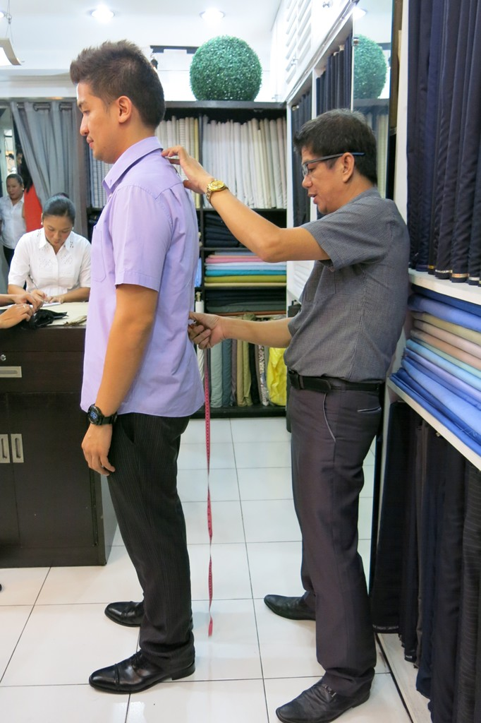 Exclusively His Tailoring Services
