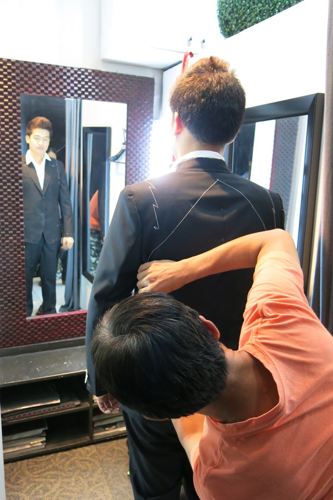 First Fitting Men's Suit Jacket (1)