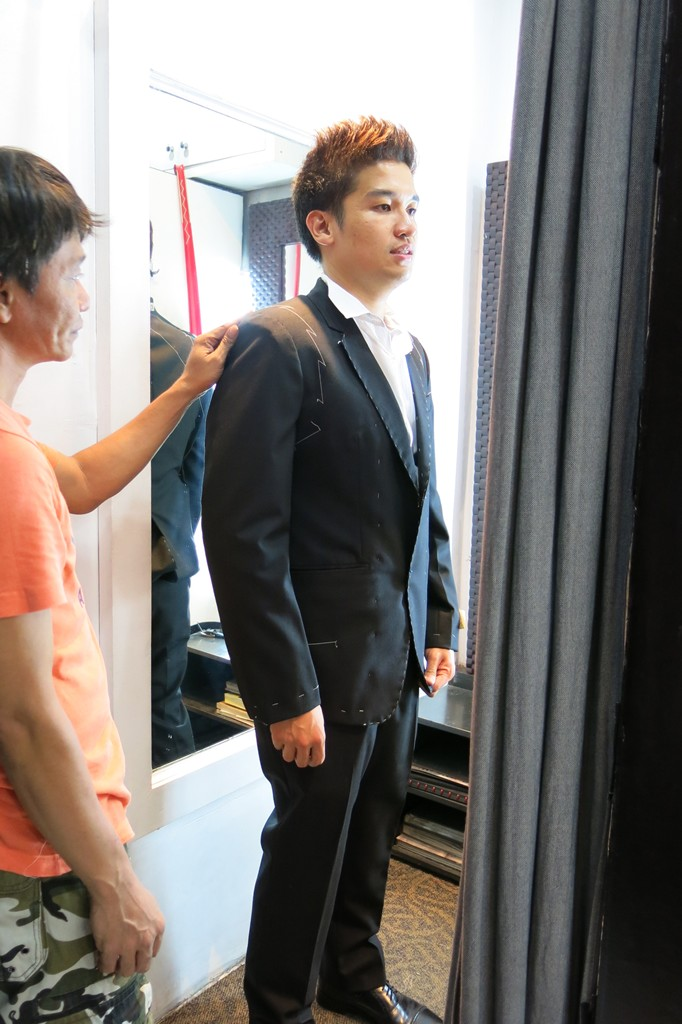 First Fitting Men's Suit Jacket (2)